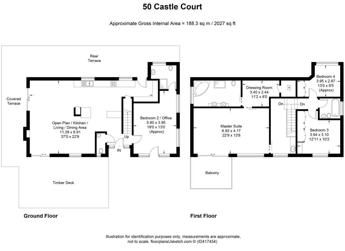 Castle Court, Ventnor
