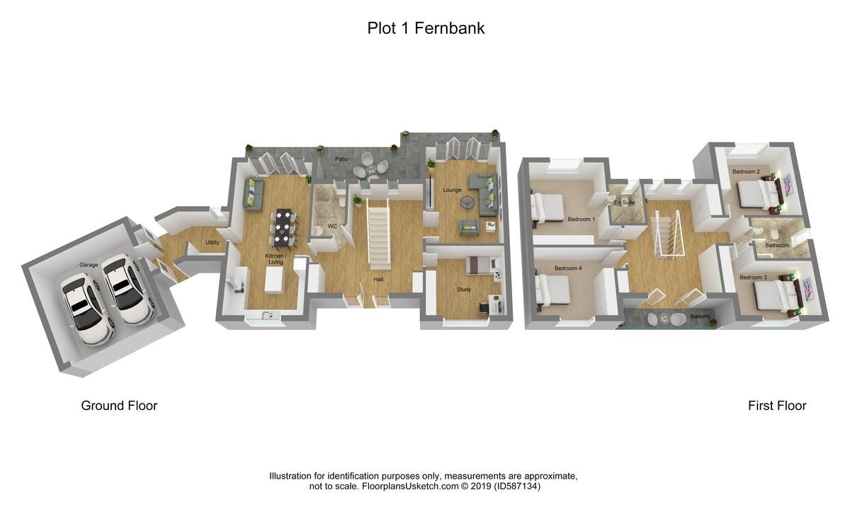 Plot 1 Fern Bank Close, Cliff Road, Totland Bay