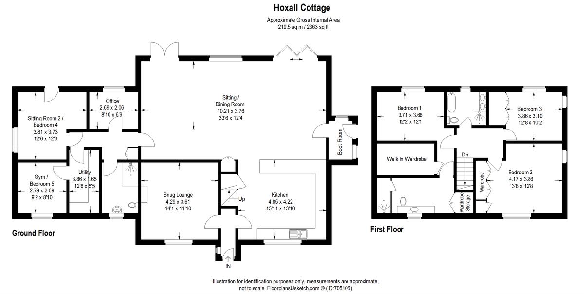 Hoxall Lane, Mottistone, Newport
